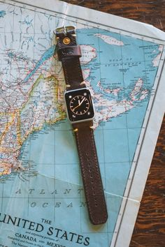 Men's Dakota leather Apple Watch Band