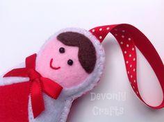 Russian+Doll+Felt+Christmas+Decoration £3.50