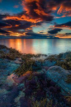 Scenery beautiful colors inTurquoise
