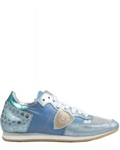 Philippe Model Tropez Bassa Donna Dot Damen Schuhe hellblau