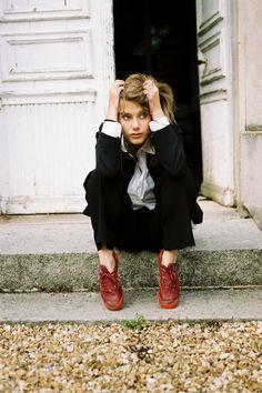 Mélanie Laurent. I love her. Girl crush.