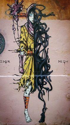 Deih, incredible street art, urban artists, free walls, amazing wall murals, best urban art, street art blog.