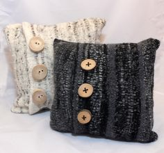 Cushions - woven and felted