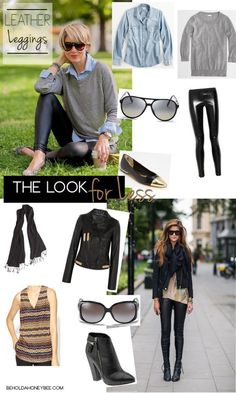 Leather Leggings on a budget!