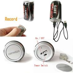 One of our newest products, A Coca-Cola Can Wireless Hidden Video Camera system features the smallest pinhole camera in the world. This unique video camera system will operate indoors or outdoors and view clearly down a street or throughout a room while r Hidden Video Camera, Coca Cola, Pepsi, Wireless Camera System, Spy Devices, Real Spy, Spy Shop, Tiny Camera, Latest Camera