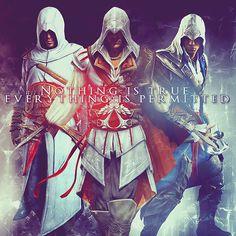 My favoritie Assassins. - Assassin's Creed