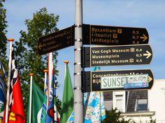 vondel park signs; amsterdam