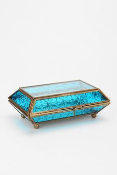 Etched Glass Jewelry Box - Urban Outfitters
