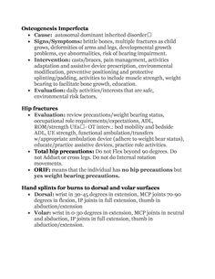 Debate topics related to amendments Nbcot Exam Prep, Osteogenesis Imperfecta, Pta School, School Ideas, Speech And Debate, Hip Problems, Student Guide, Board Exam, Occupational Therapist