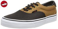 Vans U Era 59, Unisex-Erwachsene Sneaker, Schwarz (Noir (C L Black/Bla)), 42 EU (*Partner-Link)