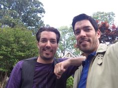 This was @MrSilverScott and my last day in #Atlanta. Thanks to everyone for being so great to us visitors! We truly enjoyed filming @PropertyBrothers here! #WeWillReturn @HGTV