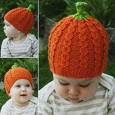 Ravelry: Pumpkin Patch Beanie pattern by Lisa Seifert :: DoleValleyGirlKnits