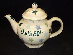 Personalised Winter Stars 4 Cup Teapot 2008 (Discontinued)