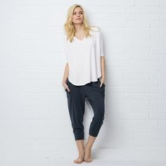 Drapey Lounging T-Shirt | The White Company