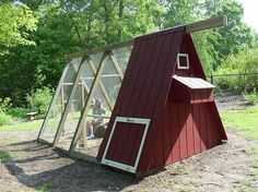 Potential idea for swing set chicken coop