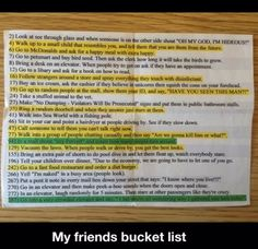 That is an awesome bucket list!