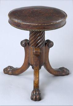 Antique Beautiful Serpentine Tiger Oak Princess Dresser