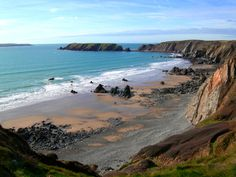 Albion House, Marloes, Haverfordwest, Pembrokeshire, Wales. Bed and Breakfast. Holiday. Travel. Sea, Beach. Skomer Island.