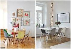 Resultado de imagen de silla eames de colores