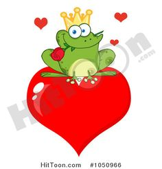 Royalty-free clipart picture of a frog prince with a rose on a heart, on a white background. Frog clip by Hit Toon. Valentine Wishes, Valentines, The Heart Of Man, Photo Heart, Cool Cartoons, Toad, Prince Charming, Clipart, Little Girls
