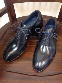 KOKON HandMade「Dundee」アノネイネイビーカーフ #gloucesterroad #KOKON #shoes #handmade #mensshoes