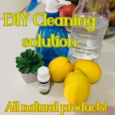easy DIY cleaning solution with you that works like a bomb! You can use it in all areas of your home, I use this cleaning solution when cleaning out the microwave and the fridge. And have also found that it is strong enough to even tackle those disgusting bath rings!