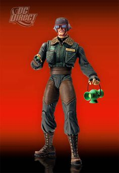 Superman: Red Son - Green Lantern Hal Jordan #actionfigures, one of my favorite looks for GL.