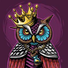 https://www.behance.net/gallery/12490831/Owl-King