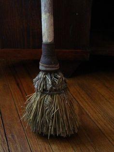 #Primitive_Brooms ANTIQUE EARLY HOMESTEAD LONG PRIMITIVE BROOM by prairieantiques