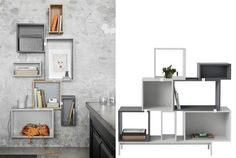 muuto stacked shelf - Google Search