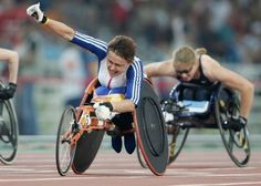 Tanni Grey-Thompson won 16 Paralympic medals, including 11 golds, held over 30 world records. She also won the London Marathon six times. Awesome