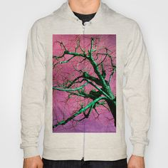 Green trees Hoody by LoRo  Art & Pictures - $38.00