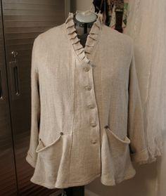 linen jacket from Marcy Tilton's Vogue 8709 by Patty Van Dorin