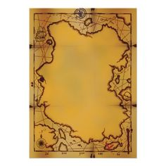 20 best treasure map invitation template images on pinterest map