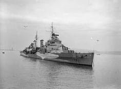 HMS BELFAST DURING THE SECOND WORLD WAR (FL 1656)