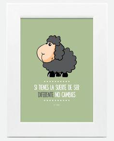 Si tienes la suerte de ser diferente... no cambies ¡Buenas noches!