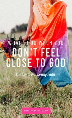 What to Do When You Don't Feel Close to God | How to Get Close to God | Knowing God's Will and Plan