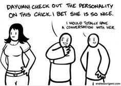 How asexuals check each other out:)