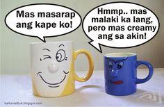 cup cartoon pinoy Tagalog, Pinoy, Bts Memes, Sun, Cartoon, House, Home, Cartoons, Homes