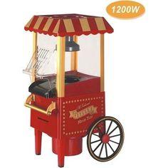 Pipoqueira Elétrica Pop Corn 1200w Carrinho Pipoca - R$ 239,00 no MercadoLivre