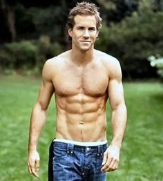 Ryan Reynolds. The picture says it all.