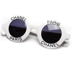 5bdba56ec7c Trippie Red in Vintage Chanel Sunglasses