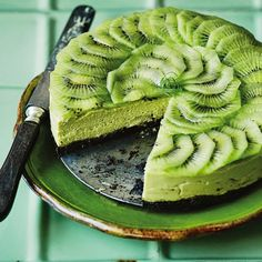Avocado and lime cheesecake. Yes really.