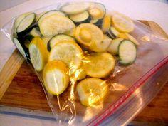 Marinated Grilled Zucchini and Squash