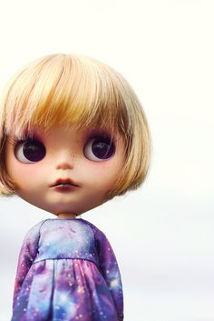 Blythe ~ what a cute little expression
