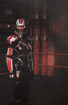 Commander Shepard. Mass effect.