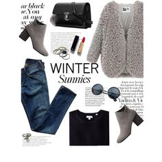 Winter sunnies by yexyka on Polyvore featuring moda, Citizens of Humanity, Steven Alan, Chanel, Marc Jacobs and vintage
