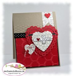 cross my heart stamp set from Stampin Up, card by Sandi MacIver www.stampingwithsandi.com