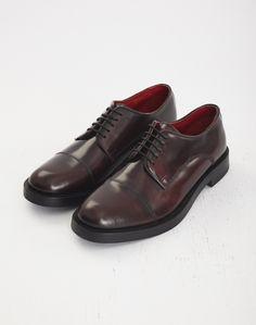 Base London Steam Hi Shine Derby Oxblood Men's Shoes, Dress Shoes, Oxblood, Formal Shoes, Derby, Oxford Shoes, Lace Up, Footwear, Base