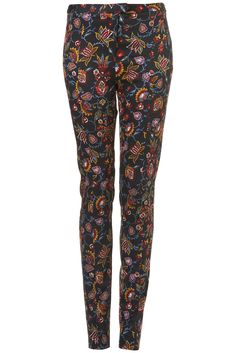 Tall Floral Tapestry Cigarette Trousers £40